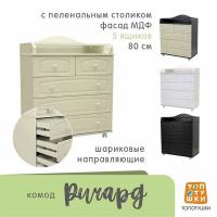 Комод пеленальный Топотушки Ричард 800/5 арт. 65