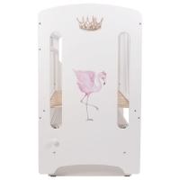 Кроватка детская Топотушки Фламинго маятник поперечный (артикул 59)