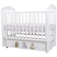 Кроватка детская Топотушки Сильвия-7 Малыши маятник