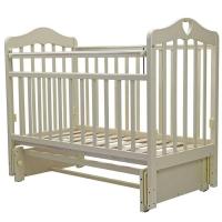 Кроватка детская Топотушки Оливия 5 с сердечком маятник