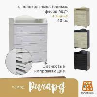 Комод пеленальный Топотушки Ричард 600/4 арт. 63