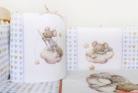 "Комплект 6 предметов Lappetti ""Мышки на облачке"""