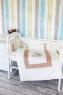 Комплект белья в кроватку Топотушки Зайка Акварель 6 предметов 674